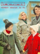 Konsument Versandhandel Katalog Winter 1974 1975